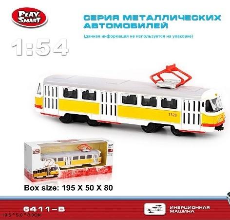Трамвай (металл) 6411B