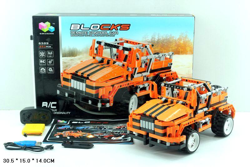 Машина-конструктор Р/У  6509