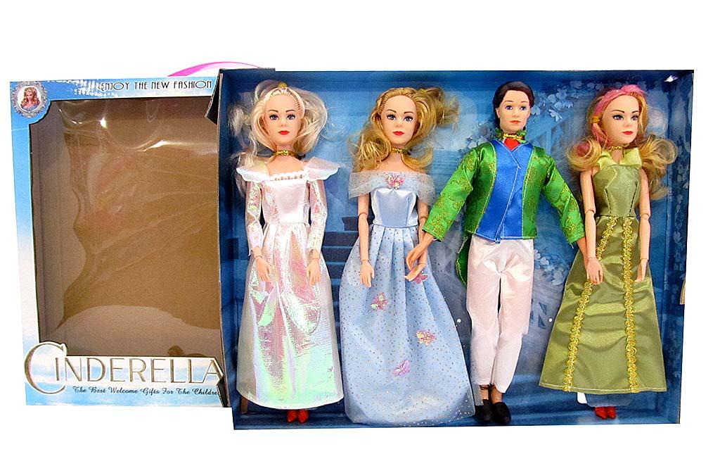 Набор кукол в коробке 8063А