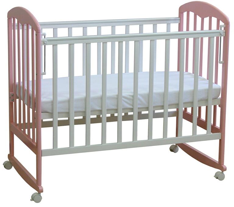 Кроватка детская Фея 323 Белый-Магнолия