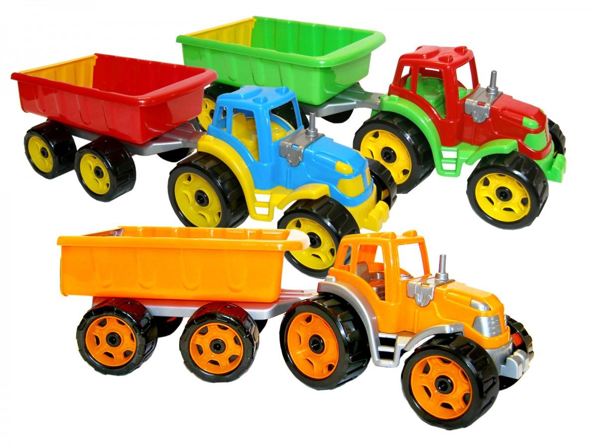 Трактор с прицепом  3442