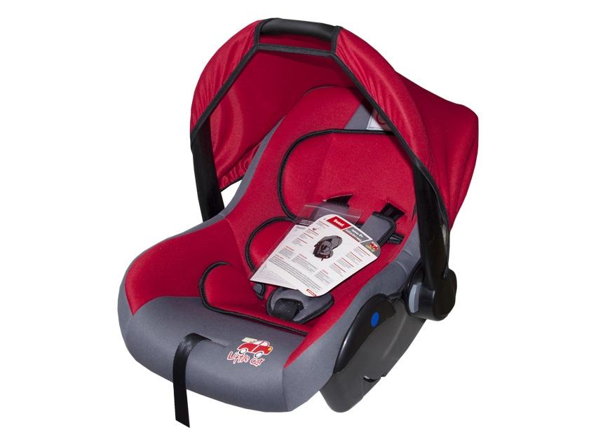 Автокресло детское 0-13кг. Little Car Sweet красный 126285