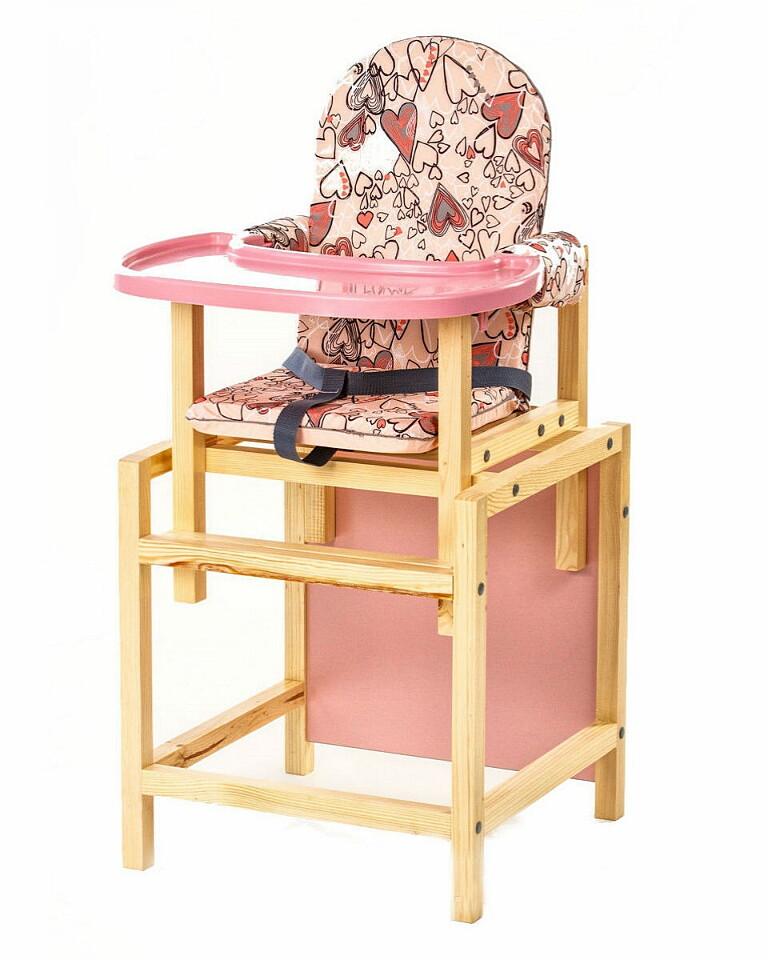 """Стол-стул """"СТД 07"""" роз. (розовая столешница)  Арт.СТД0706"""