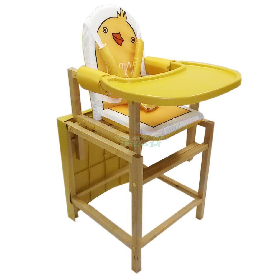 """Стол-стул  """"DUCKY"""" (лакированный)"""