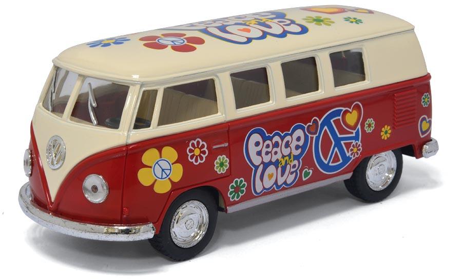 Volkswagen Classical Bus раскрашенный