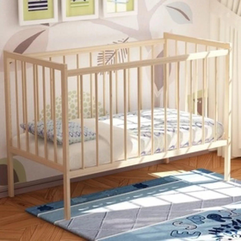 """Кровать детская """"VDK-Magico mini"""" Кр1-01 берёза"""