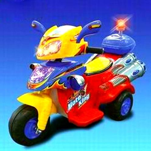 Мотоцикл на аккумуляторе 7355
