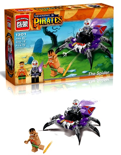 Конструктор Brick Pirates 1301