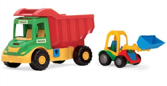 Multi Truck грузовик с трактором 39219