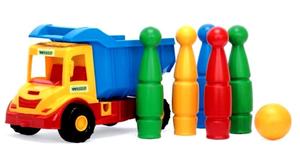 Multi Truck  грузовик с кеглями 39220