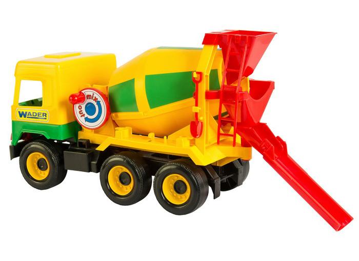 Middle truck бетоносмеситель 39223