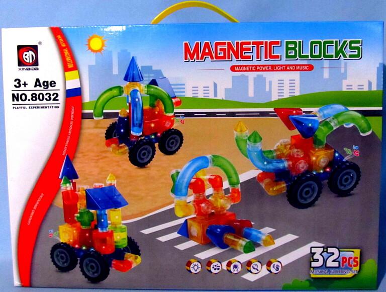Конструктор magnetic 32 деталей 8032