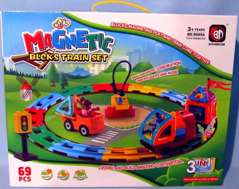 Конструктор magnetic 69 деталей 9069A