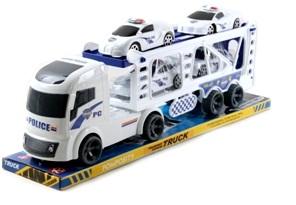 Автомобиль RJ6605A «Автовоз Полиция» инерционный