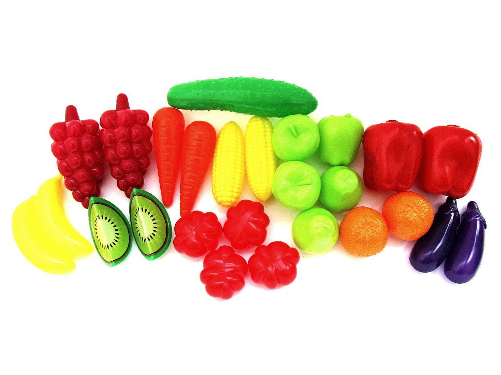 """Набор """"Фрукты овощи"""" в сетке 518 (24эл.)"""