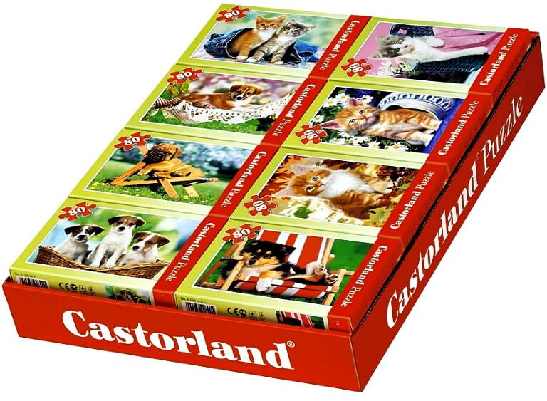 Пазлы Castorland 80  08514-Z