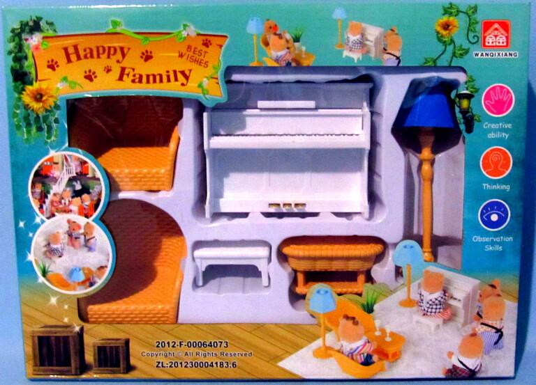 """Счастливая семья """"Набор мебели"""" 012-08B"""