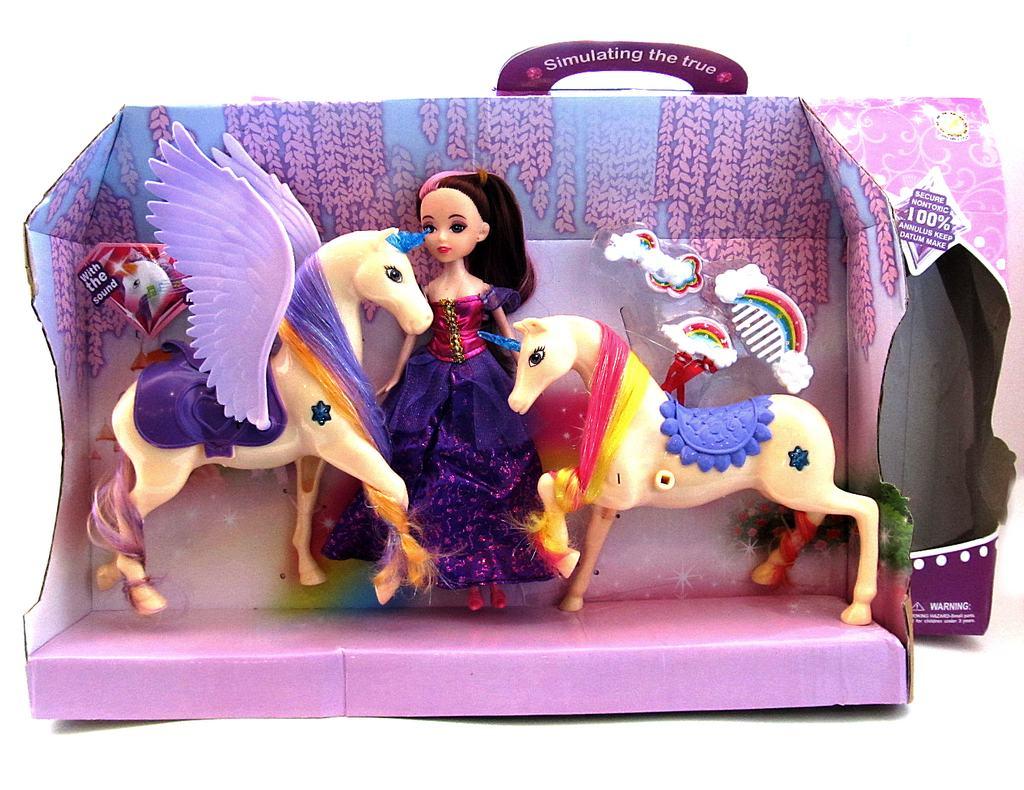 Волшебный Пегас с куклой и аксессуарами8810-2