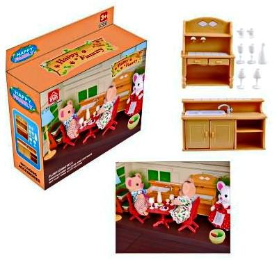 """Счастливая семья """"Набор мебели"""" 012-03B"""
