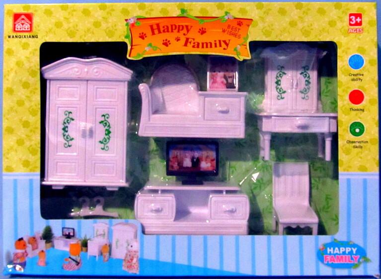 """Счастливая семья """"Набор мебели"""" 012-11B"""