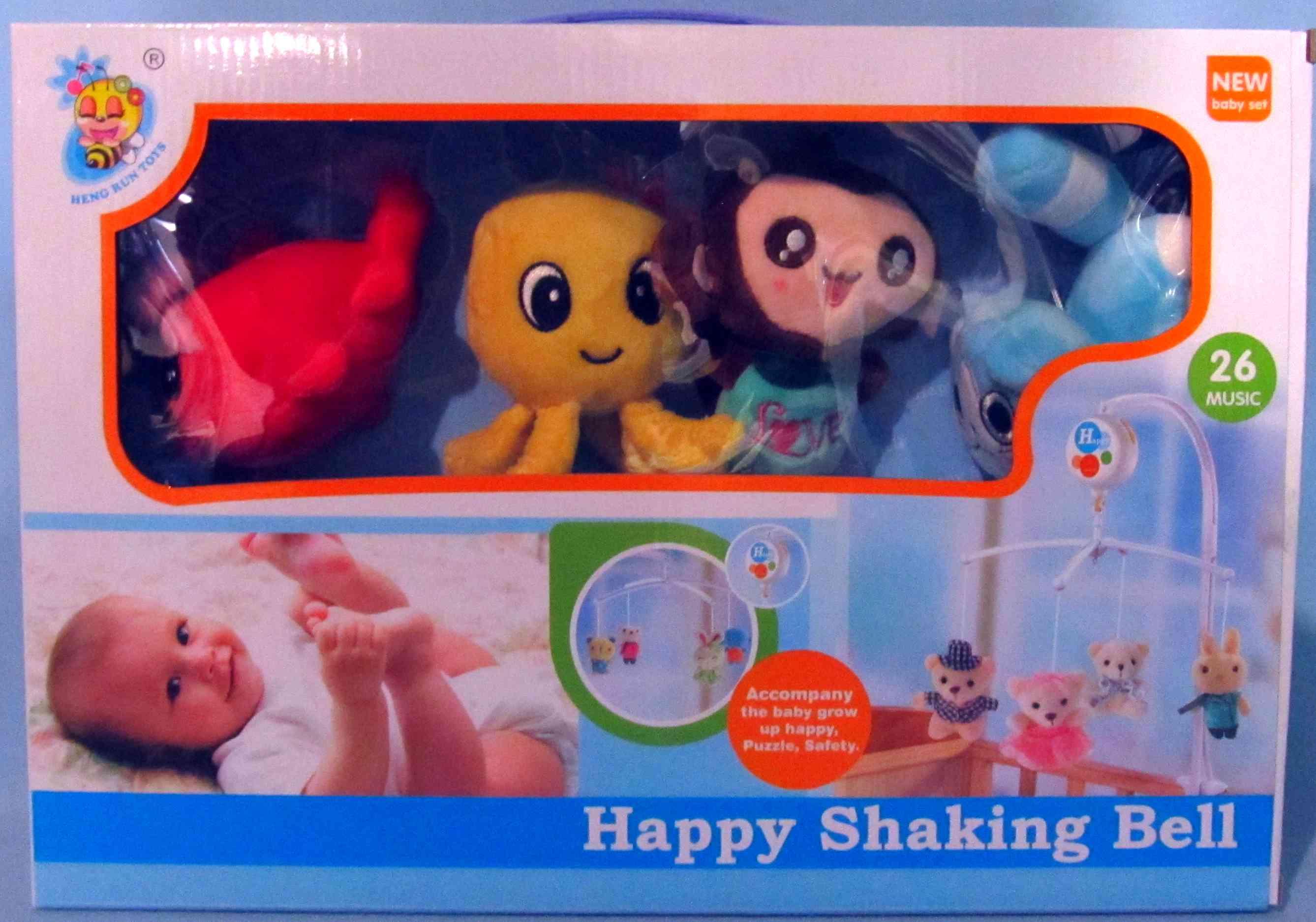Карусель на кроватку Happy Shaking Bell D101