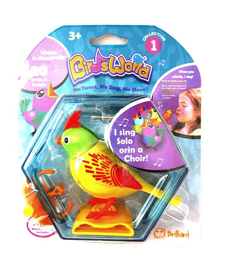Поющая птичка 3333-3В