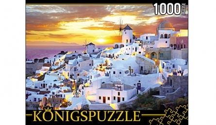 ПАЗЛЫ 1000 элементов. КБК1000-6493 ГРЕЦИЯ. САНТОРИНИ