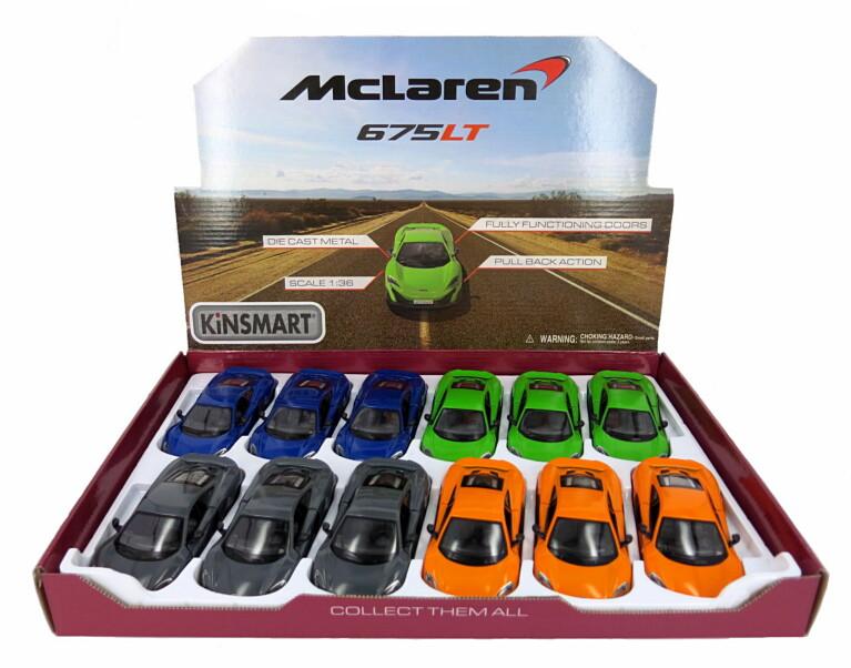 1:36 McLaren 675LT БЕЗ КОРОБКИ  5392D
