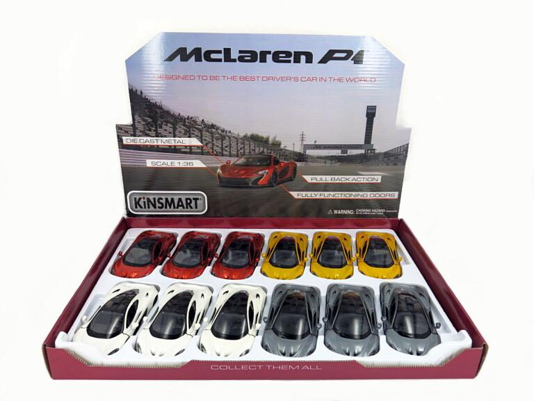 1:36 McLaren P1 БЕЗ КОРОБКИ  5393D