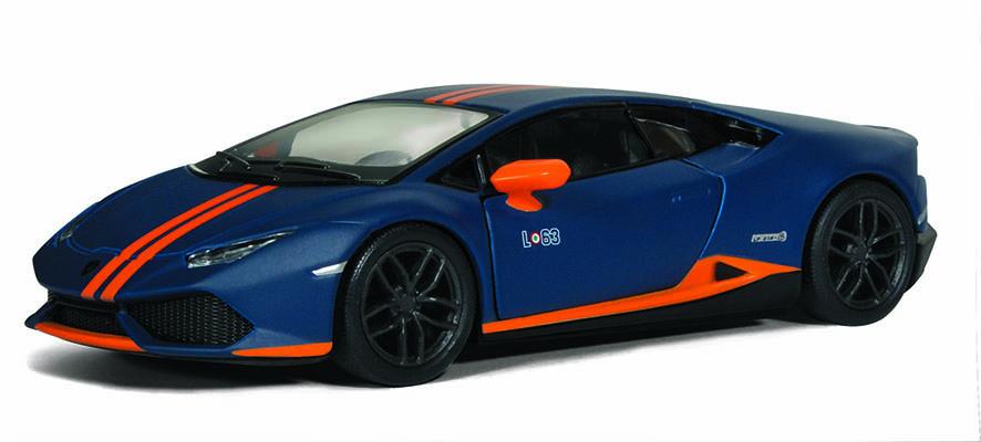 1:36 Lamborghini Huracan LP610-4 матовый БЕЗ КОРОБКИ  5401D