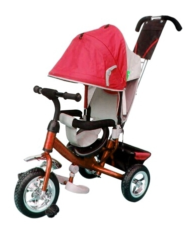 Велосипед 3х колесный  36001 красный