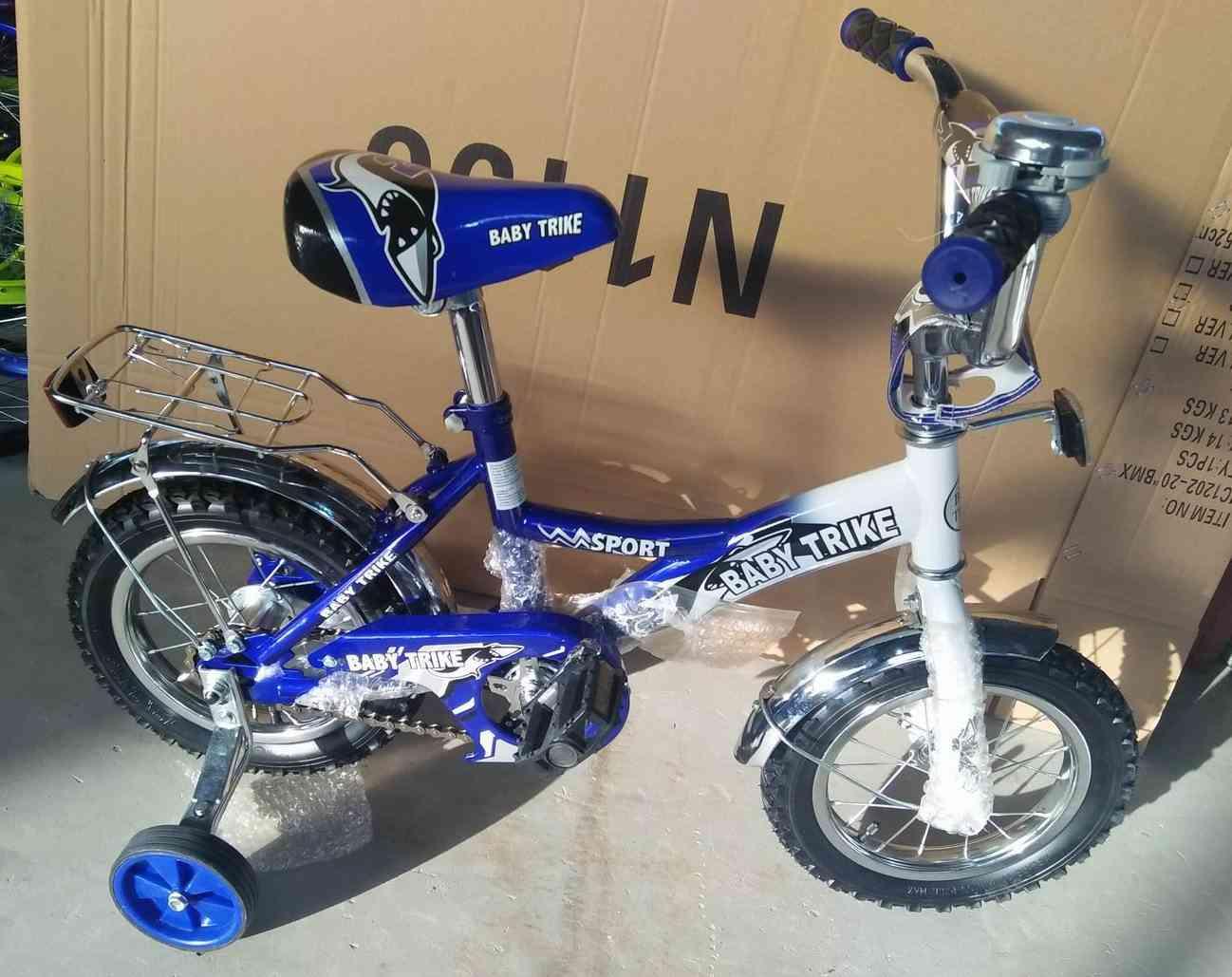 Велосипед 12  1298 СИНИЙ