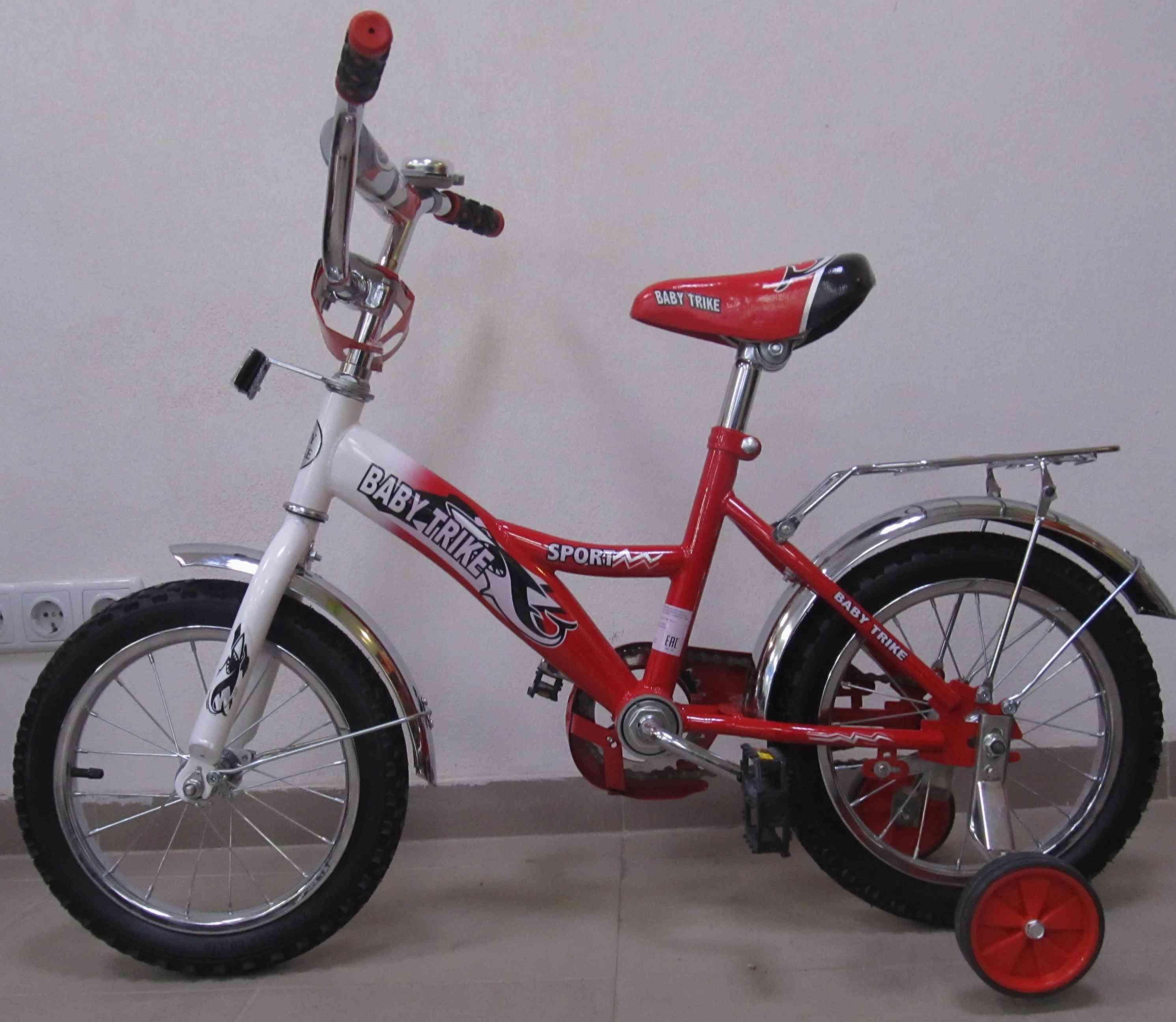 Велосипед 14  1298 КРАСНЫЙ