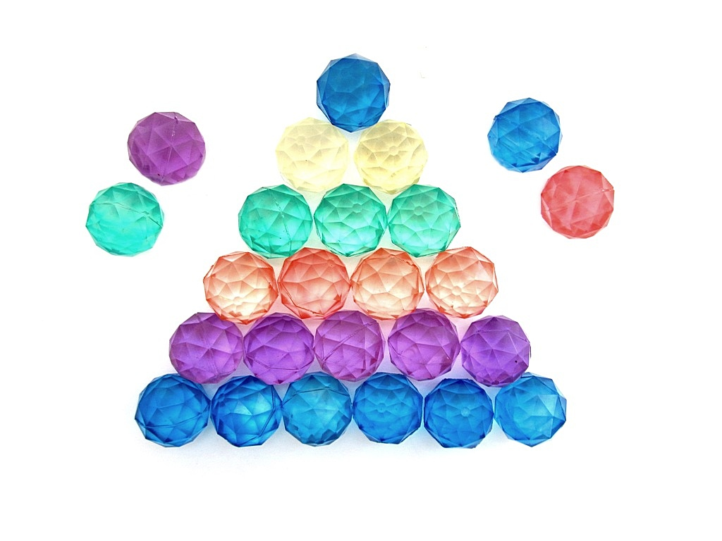 Мяч Ромбик 14 (по 50 шт. в пакете) (4,5 см)