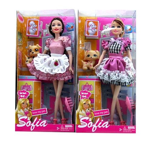 Кукла №BBL7734 с аксессуарами /коробка (15.5х32.5х6)