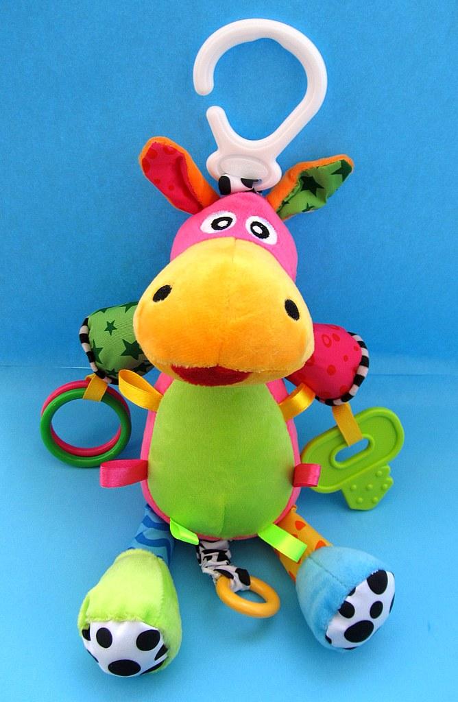 Мягкая игрушка-погремушка 5635-3