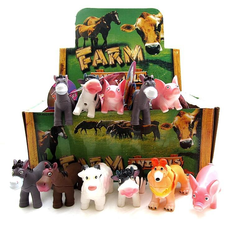 Ферма резиновые животные 1865-6