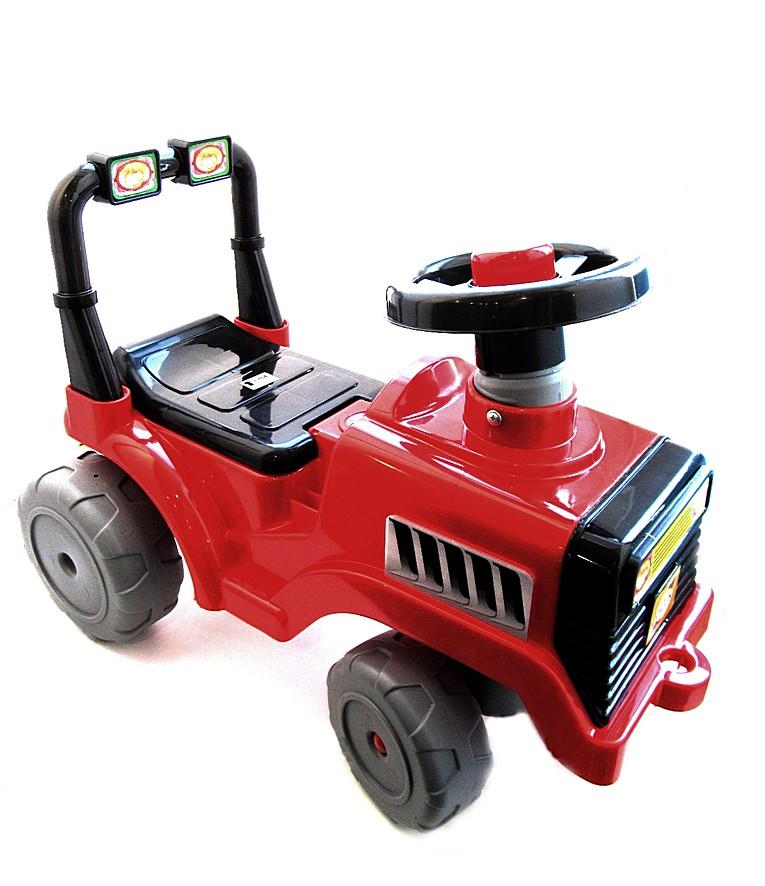 Каталка Бэби Трактор 931 красная