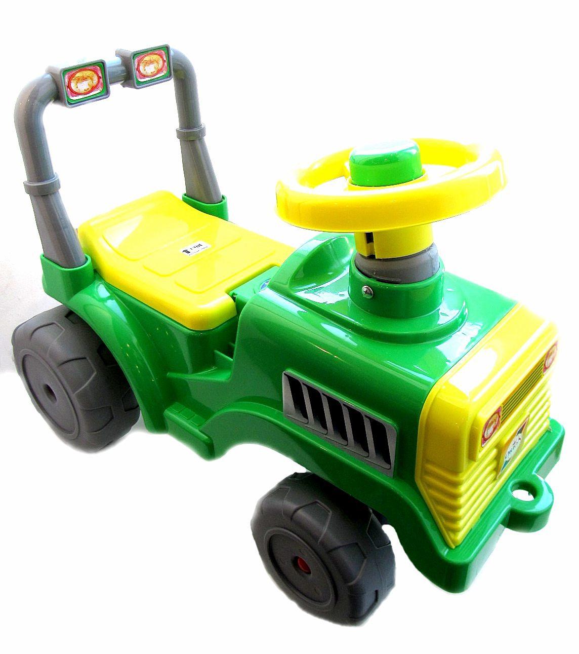 Каталка Бэби Трактор 931 зеленая
