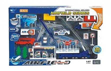 АВТОМИР. Игровой набор. 43х28х5 см. АЭРОДРОМ-7 (Арт. И-4688)