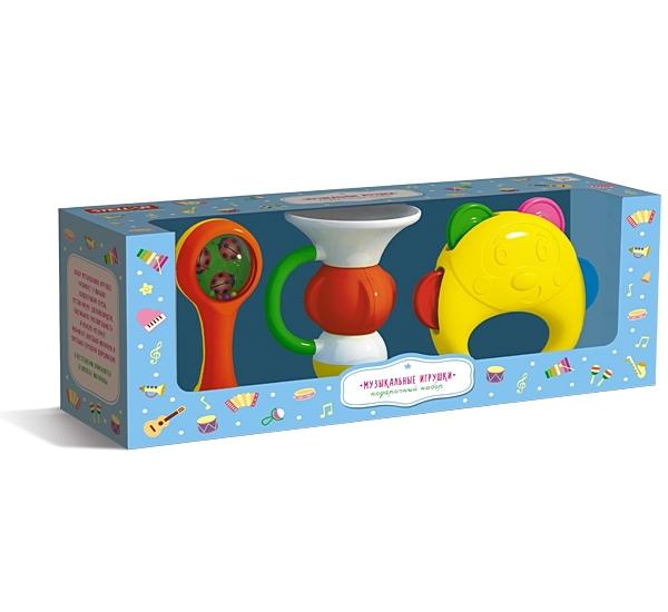 Музыкальные игрушки набор №1   01919