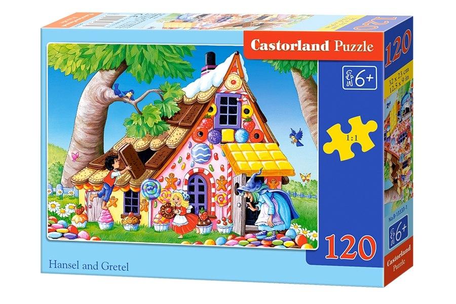 Пазлы Castorland 120 midi  13333