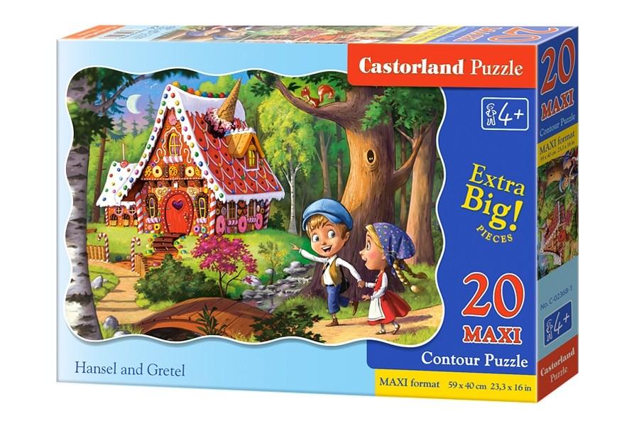 Пазлы Castorland 20maxi   02368