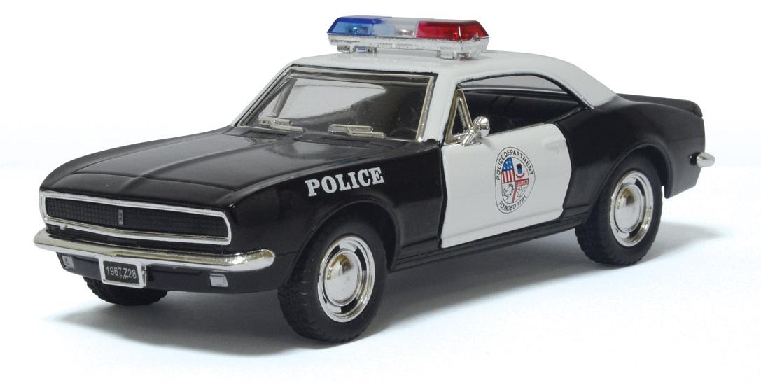 1:37 1967 Chevrolet Camaro Z/28 полиция  5341DPKT