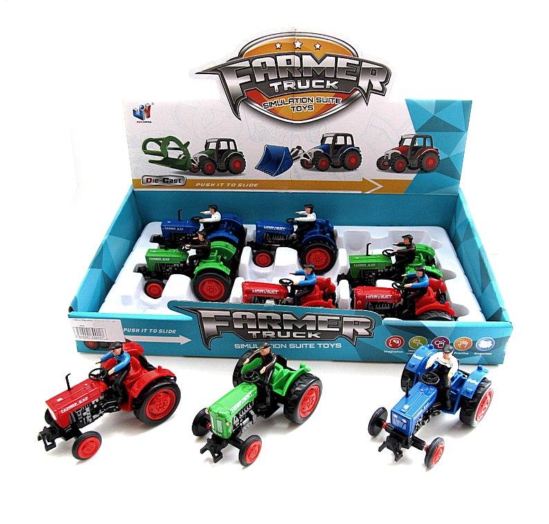 Набор Машинок (трактор) 114 по-шт