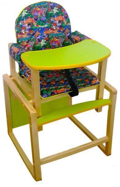 Стол-стул Джунгли зеленый. арт.СТД 0309