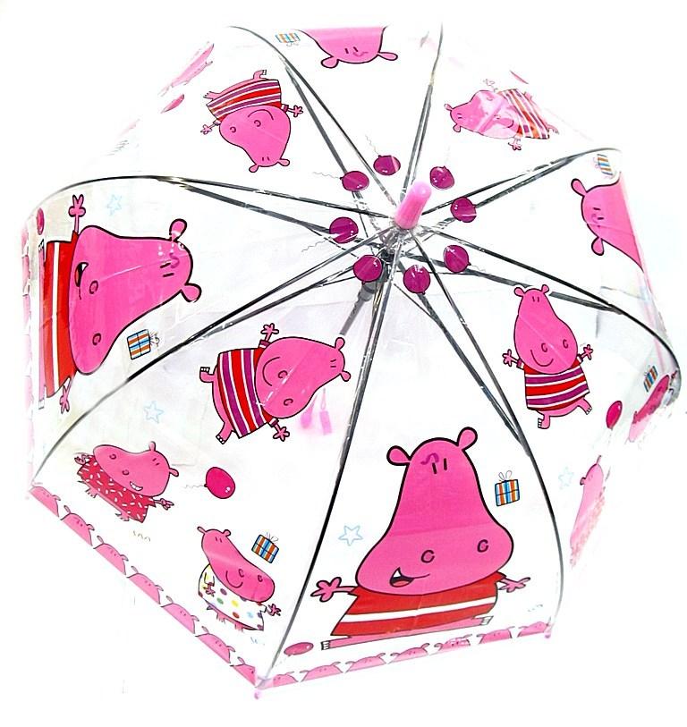 Зонтик детский 7 спиц №278-277/диаметр 50см/полуавтомат