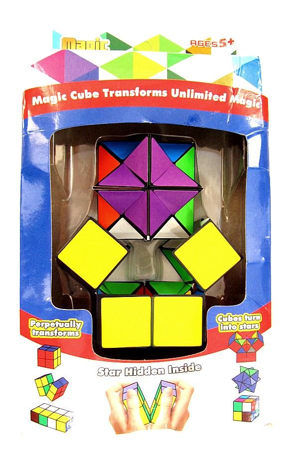 Кубик головоломка 96 шт  55816