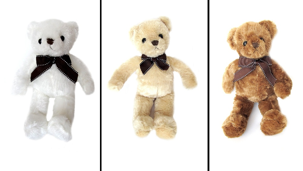 Медведь с бантом W112 мяг. игрушка