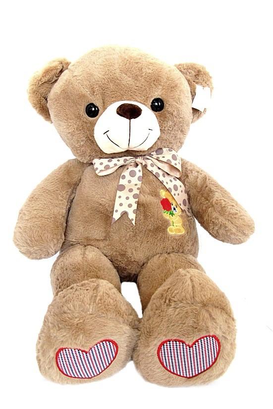 Медведь с бантом (F2) W121 мяг. игрушка